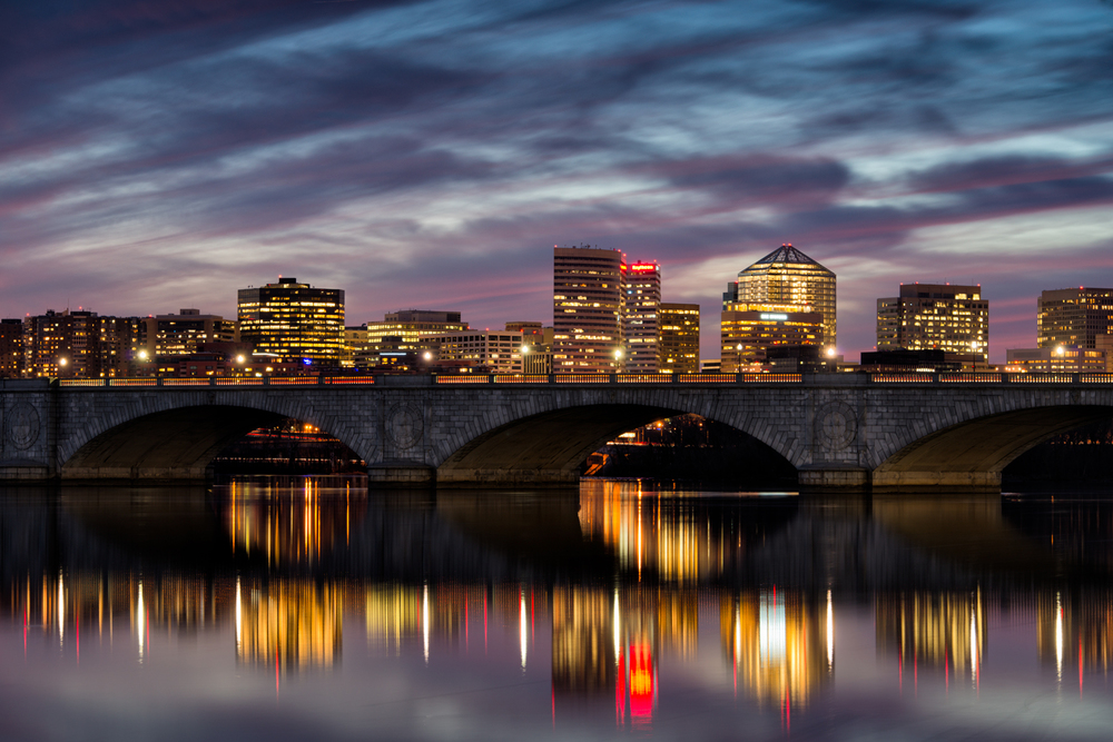 Rosslyn, VA, March Evening