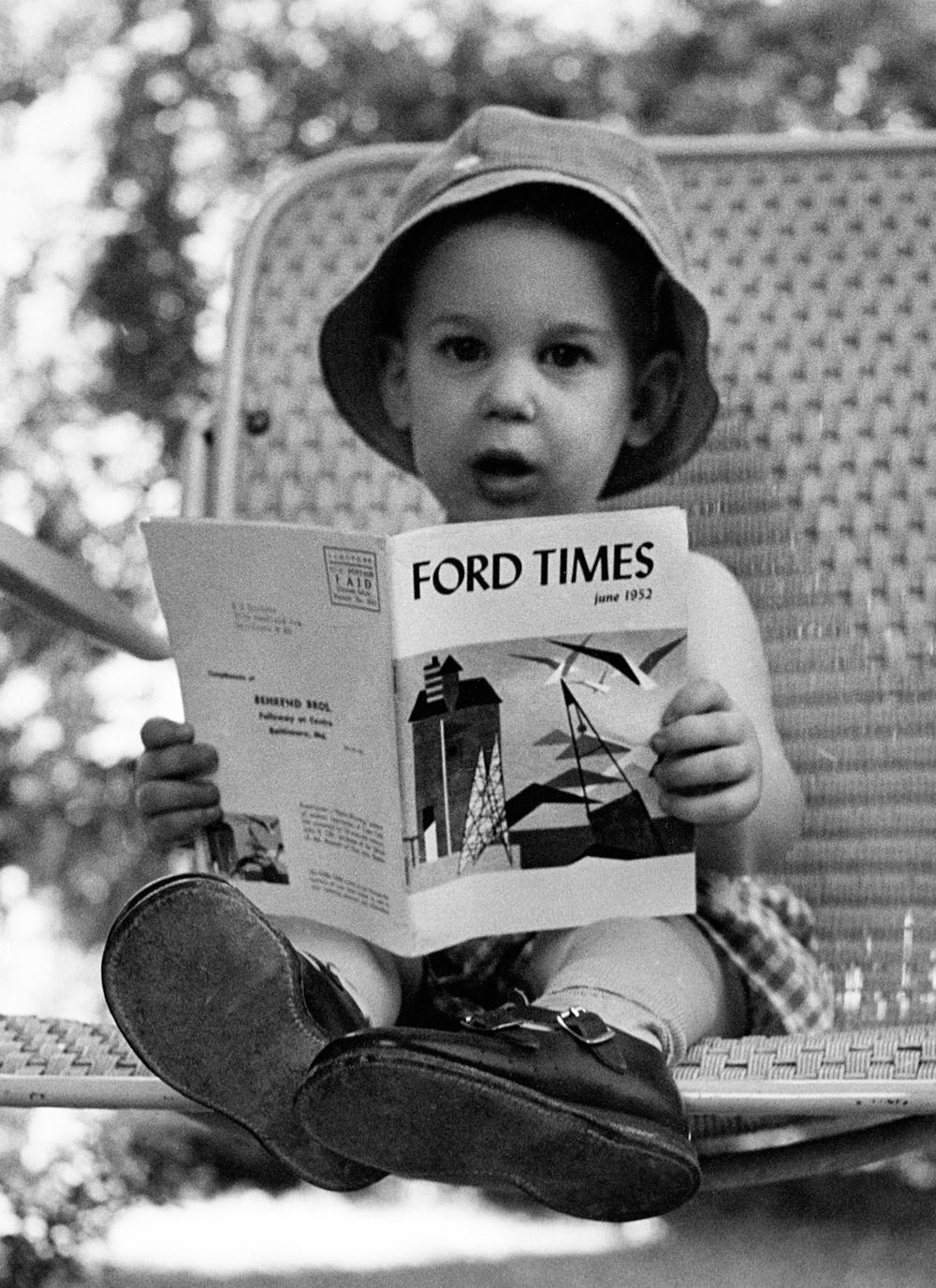 Me, June, 1952