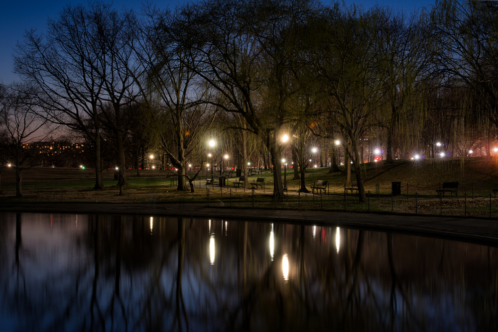 Constitution Gardens, April Evening