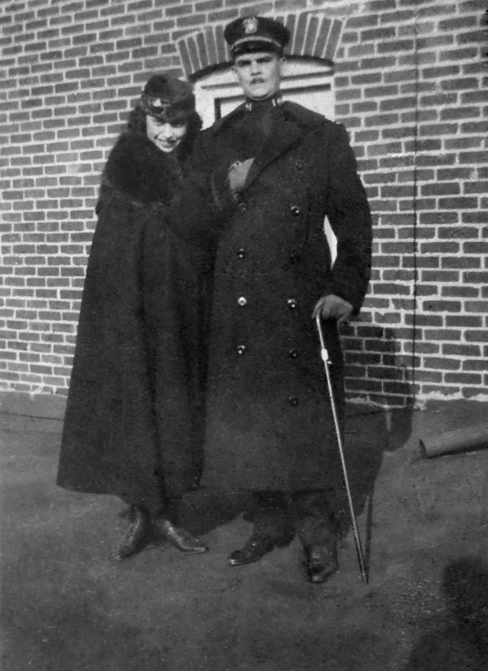 Kathryn and Harry, April 1919