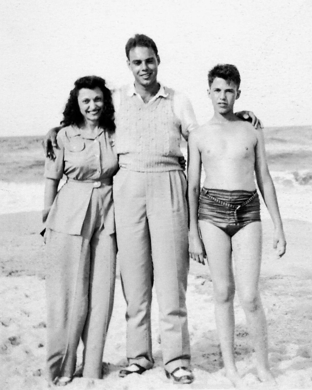 Kathryn, Doug and Buddy