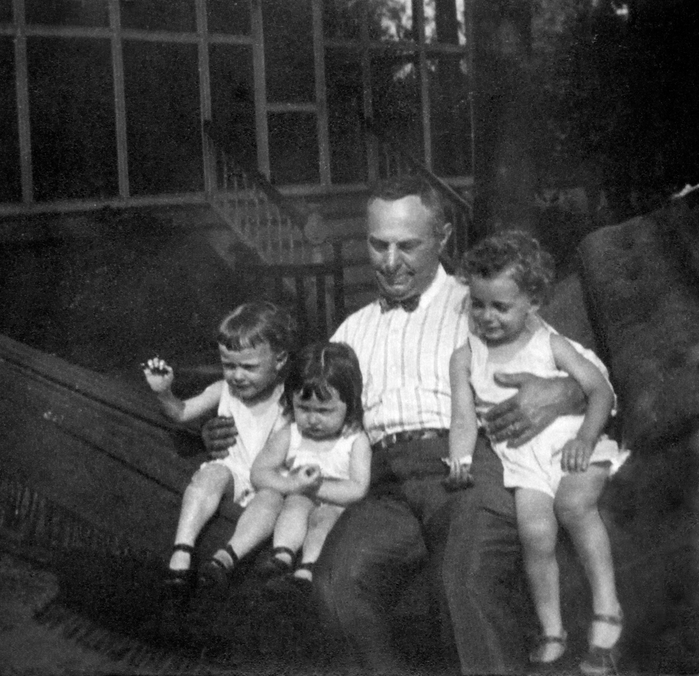 Leon Gottlieb with Radford, Jean and Doug
