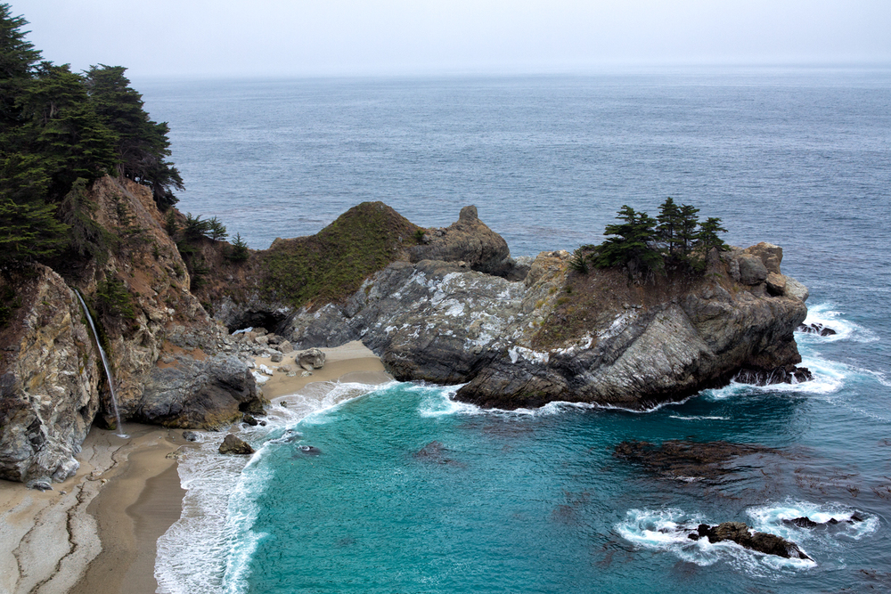 Julia Pfeiffer Burns State Park, June Morning