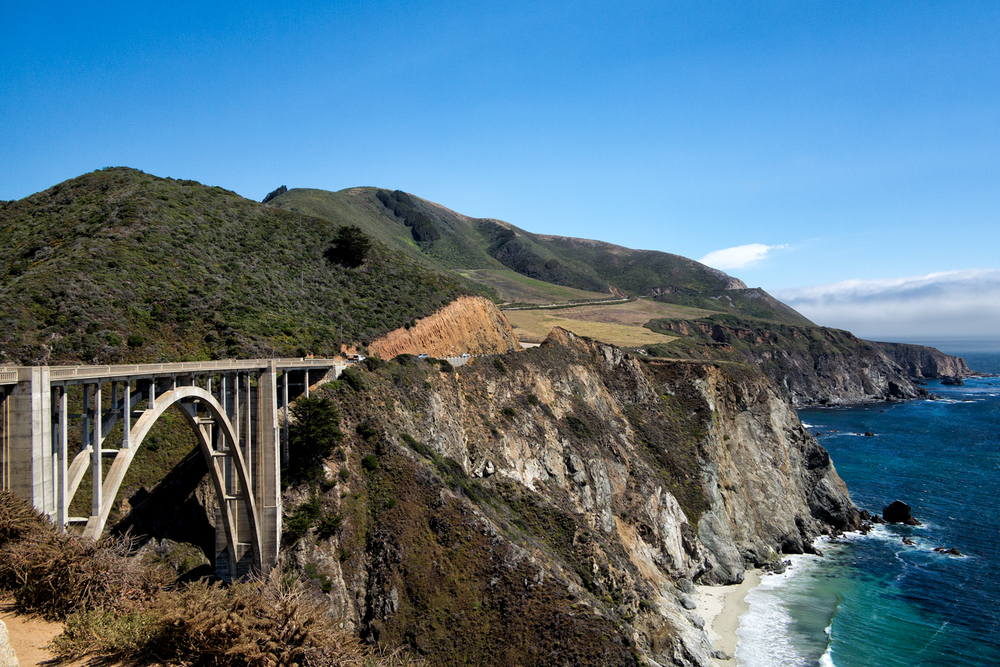 Bixby Bridge, Big Sur, June Afternoon