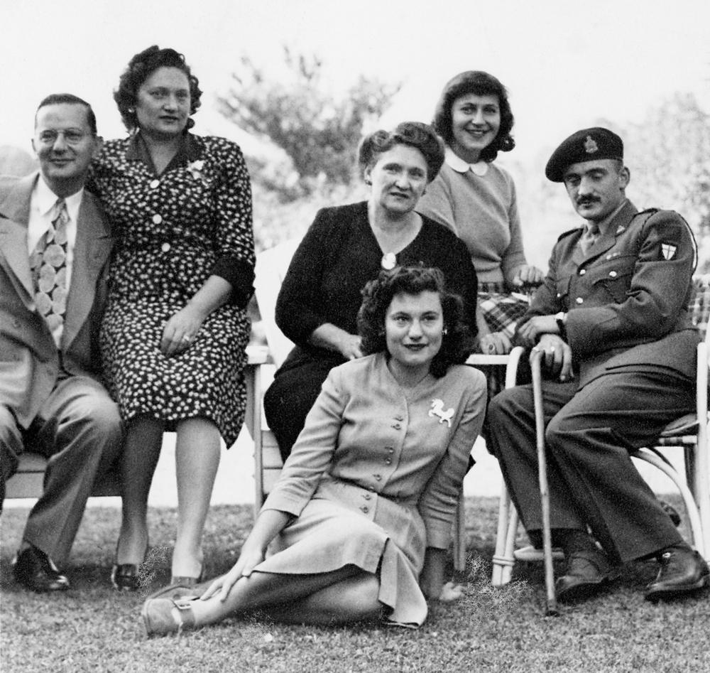 Adalman Family (Sol, Hannah, Rose, Lillian, Anne, Bernard)