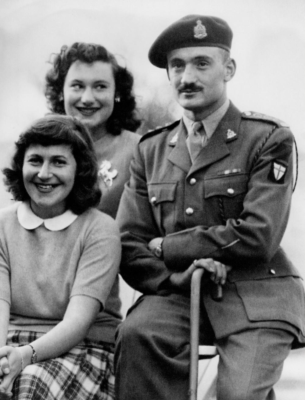 Anne, Lillian and Bernard