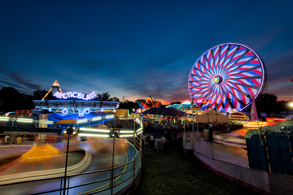 Great Frederick Fair, September Evening