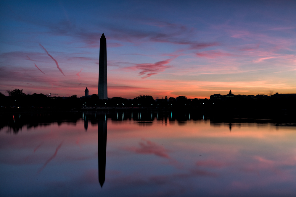 Washington Monument, October Morning
