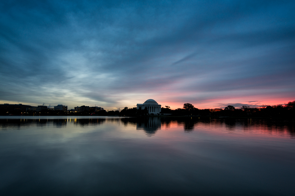 Jefferson Memorial, October Morning