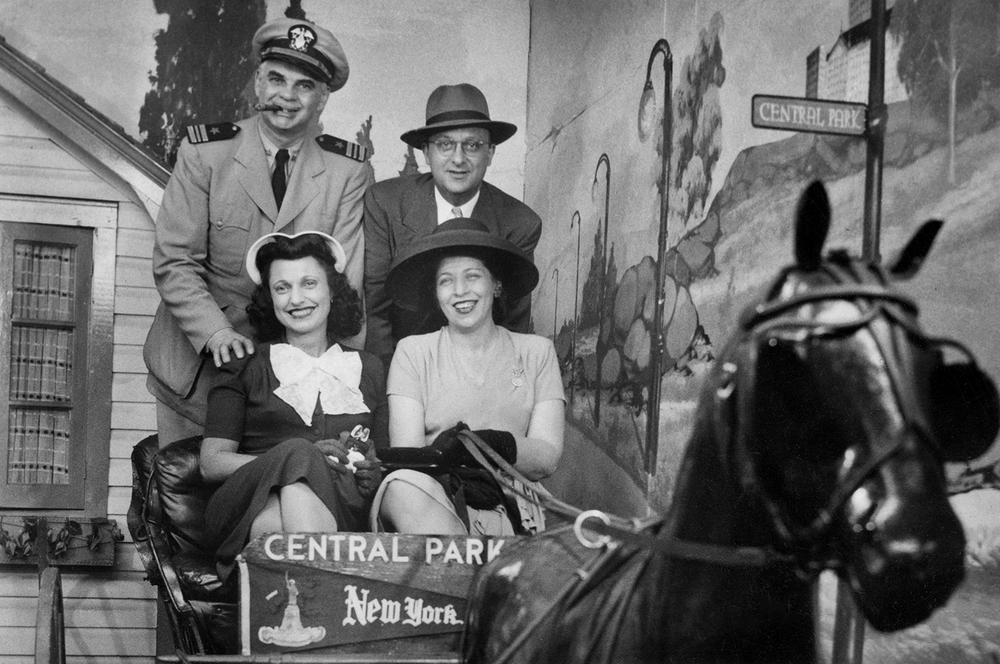 Kathryn, Harry and friends during WWII