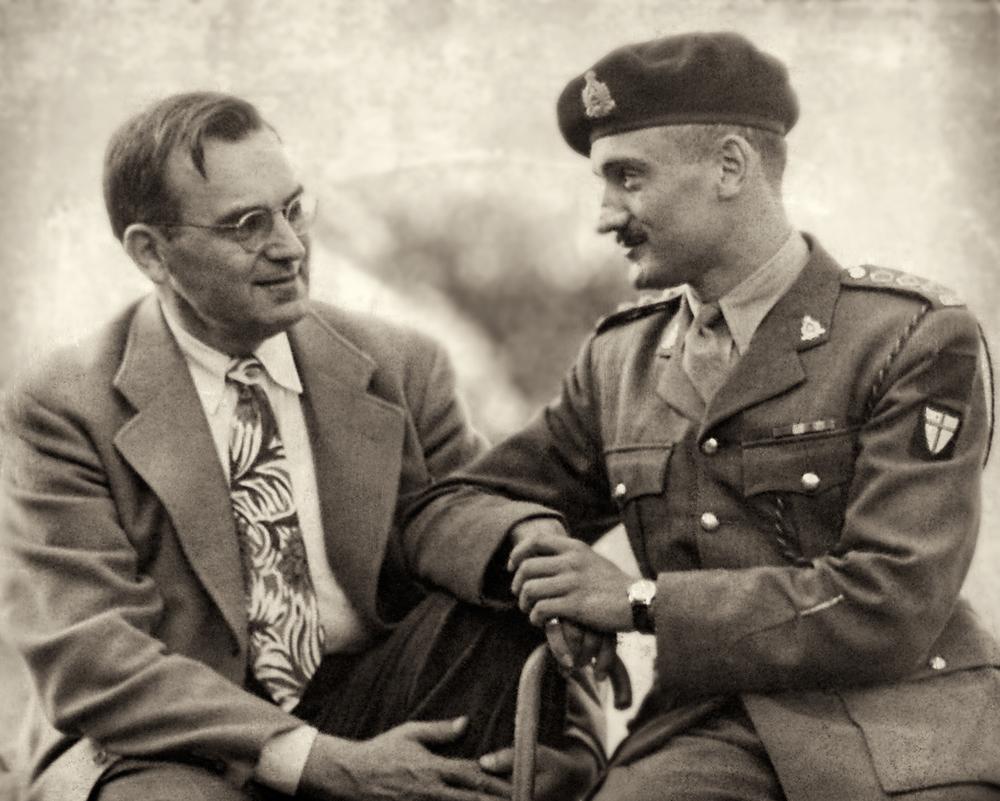 Eli Adalman and Bernard Finestone