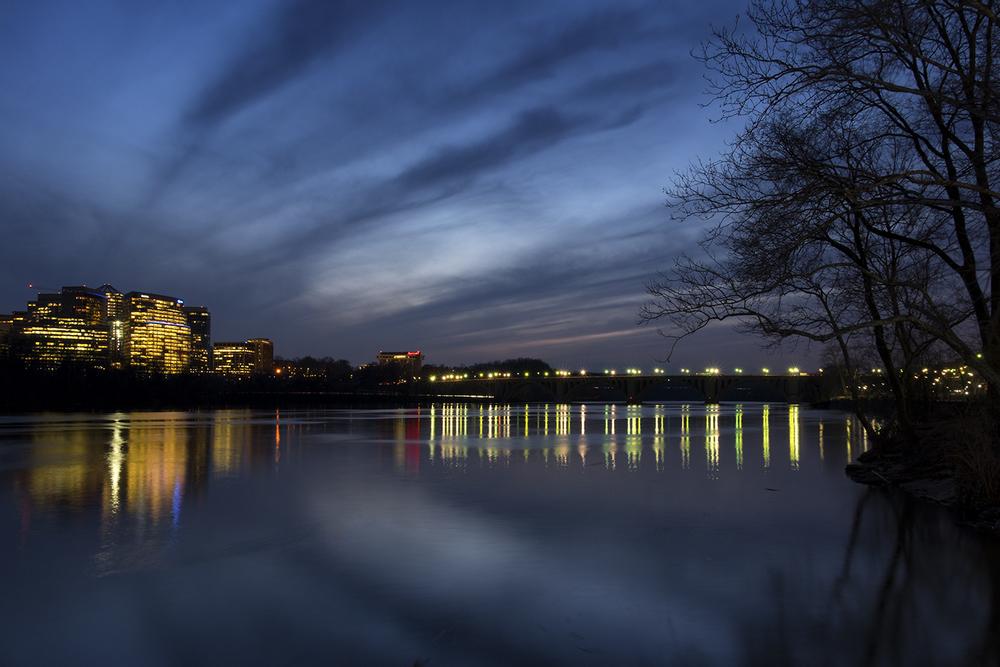 Potomac River, February Evening