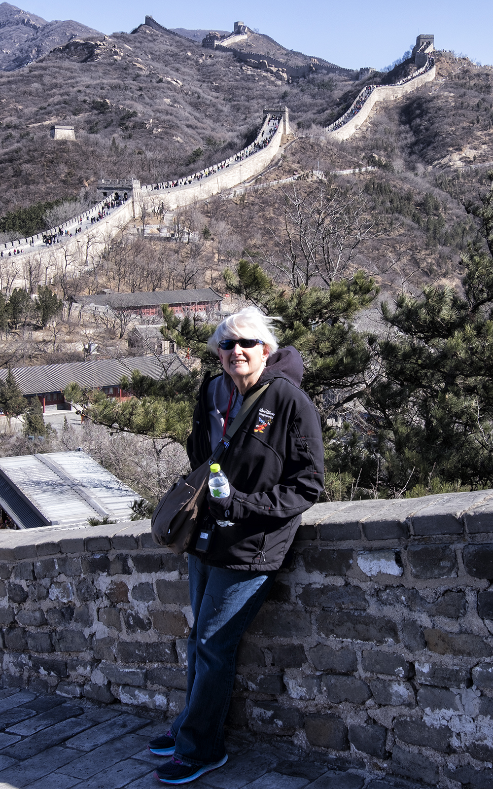 Linda on the Great Wall