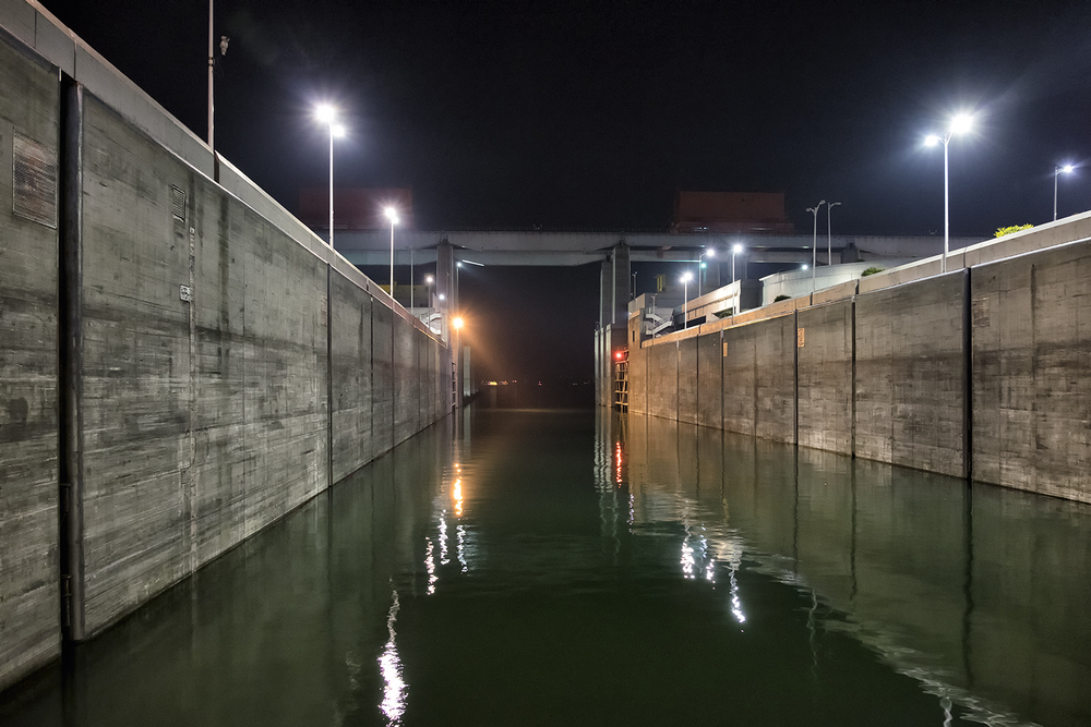 Lock, Three Gorges Dam