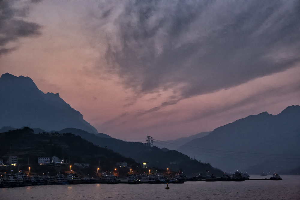 Yangtze River at Sunset