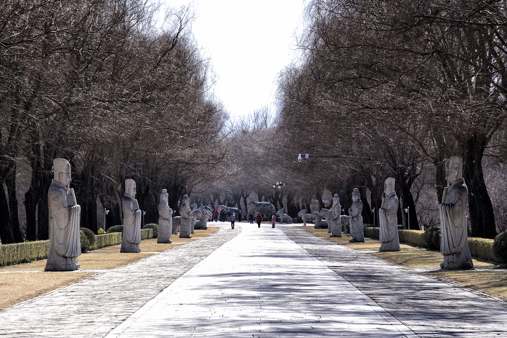The Sacred Way, at the Ming Tombs, Beijing