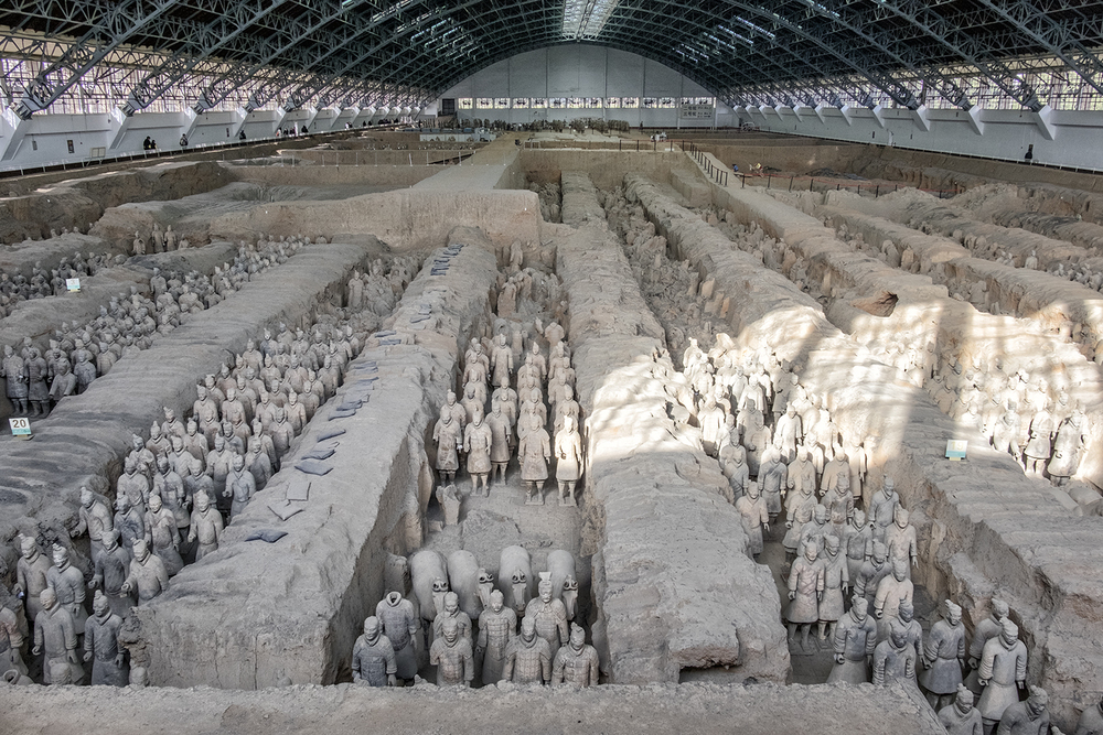 Terracotta Warriors, Pit No. 1