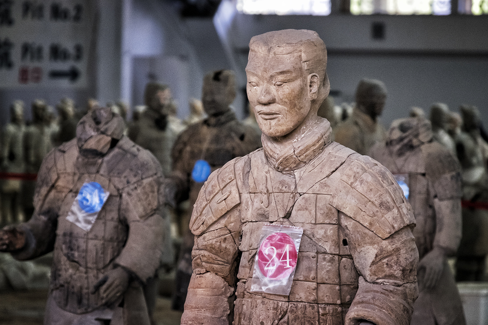 In the Terracotta Warrior Hospital