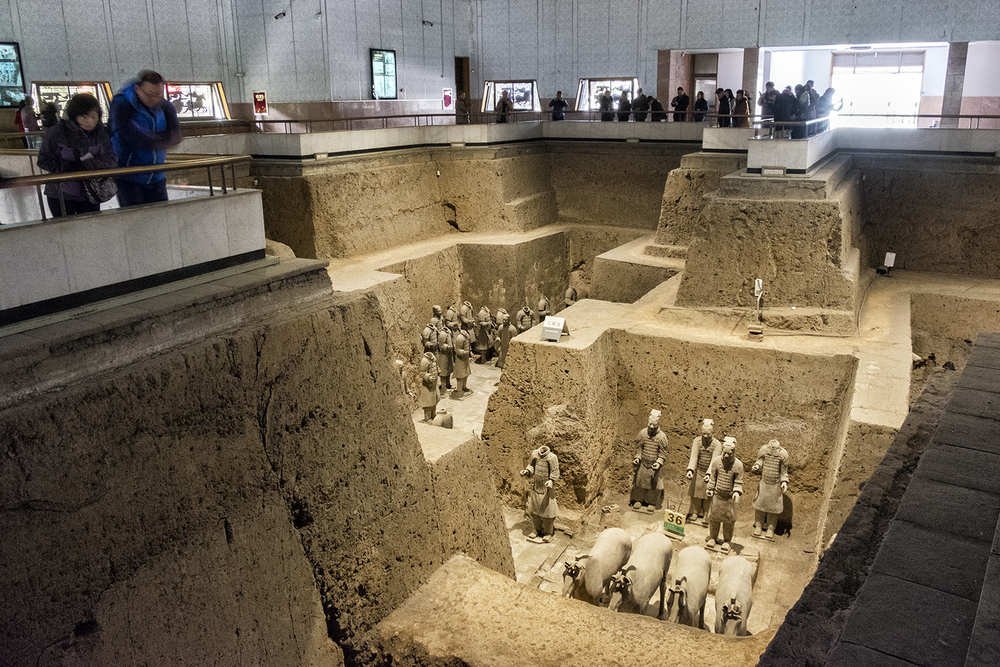 Terracotta Warriors, Pit No. 3