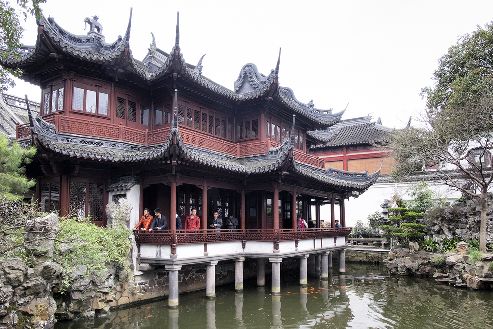 In the Yu Garden, Shanghai