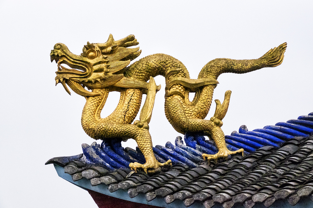 Shibaozhai Temple Dragon
