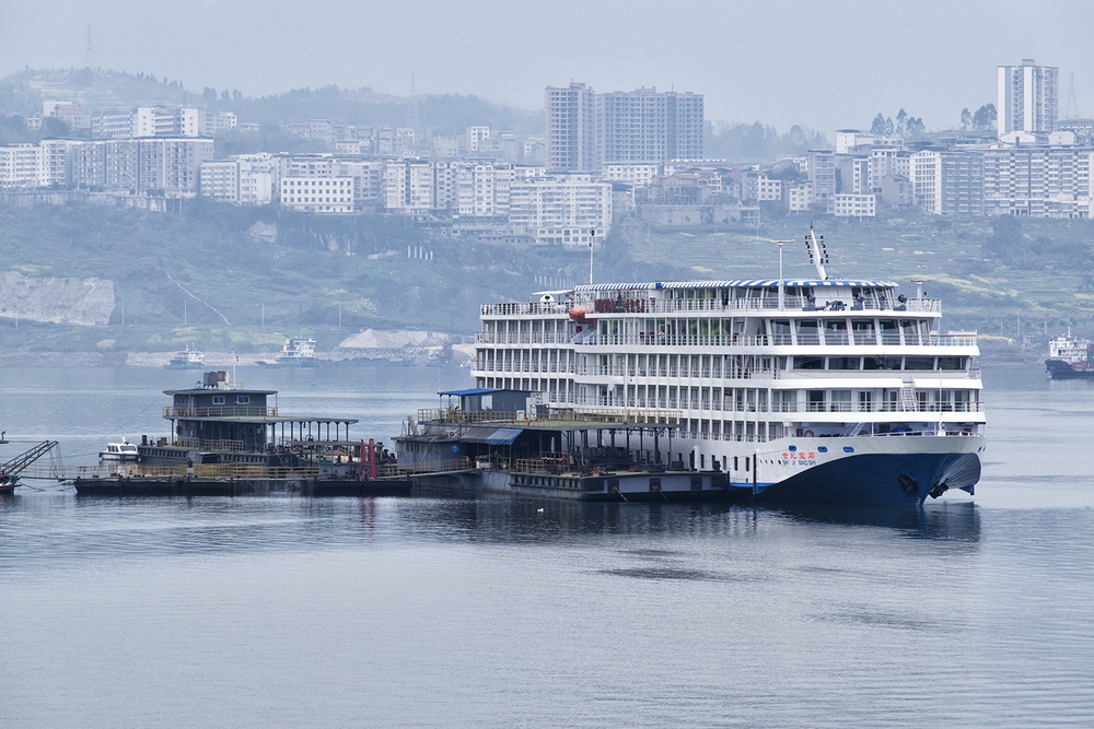 Viking Empress Docked in Shibaozhai