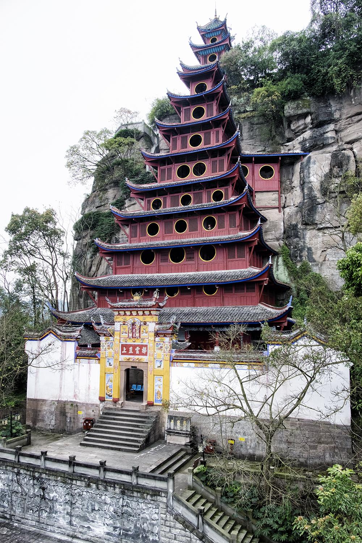 Shibaozhai Pagoda