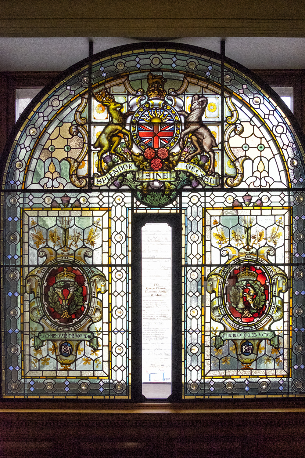 Queen Victoria Window, BC Parliament