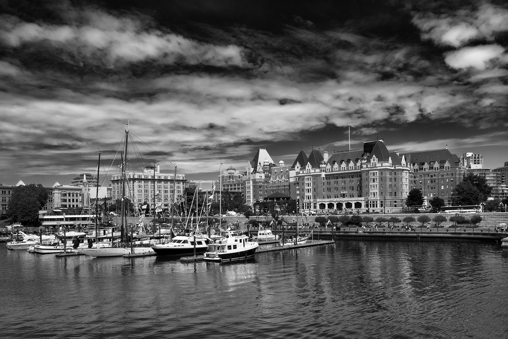 The Fairmont Empress, July Afternoon