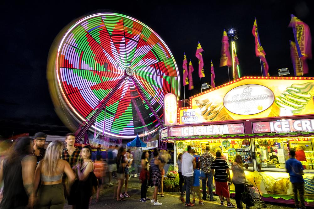 Montgomery County Fair, August Eveing