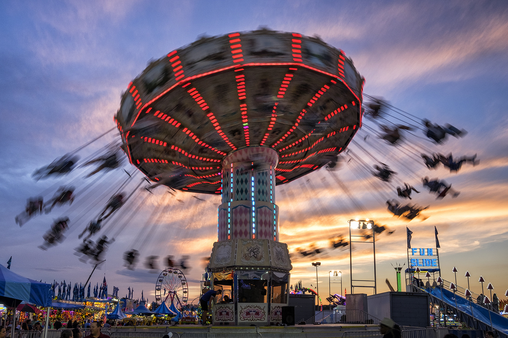 Montgomery County Fair, August Evening