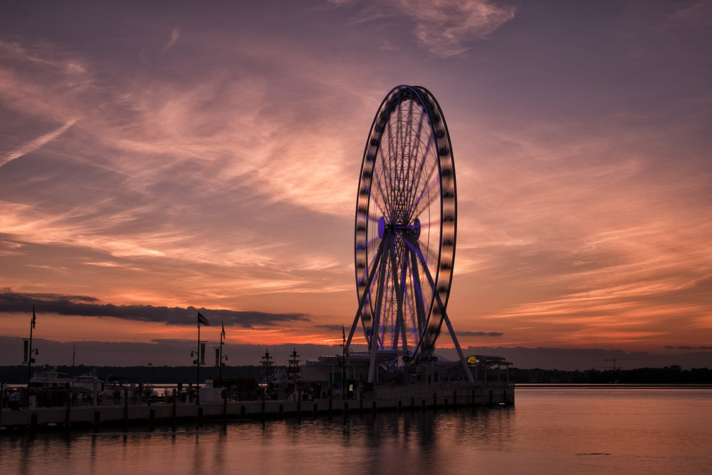 National Harbor, September Evening