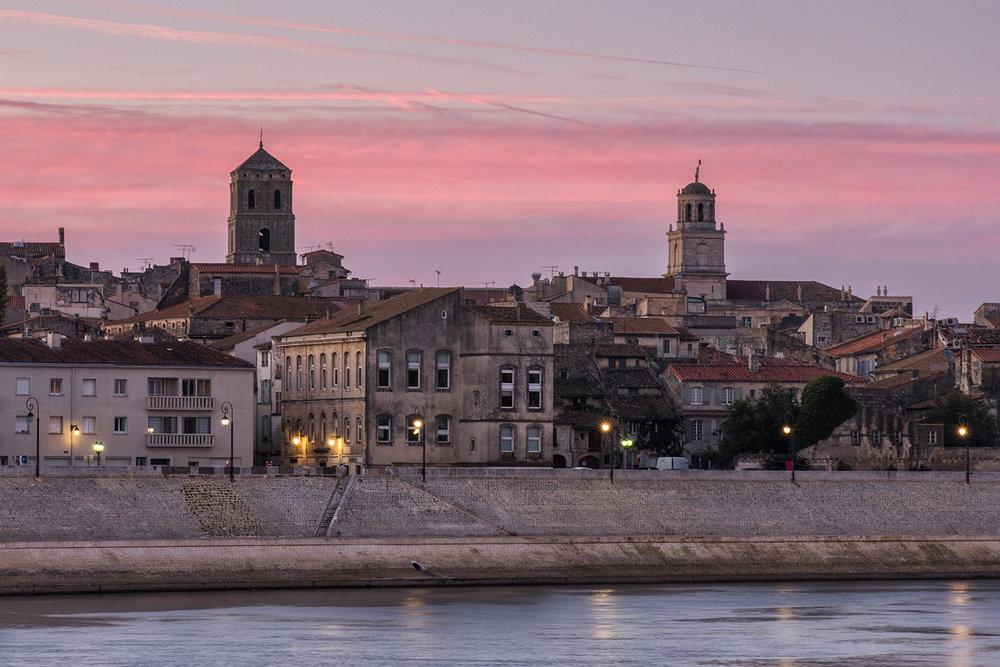 Arles, France, October Evening
