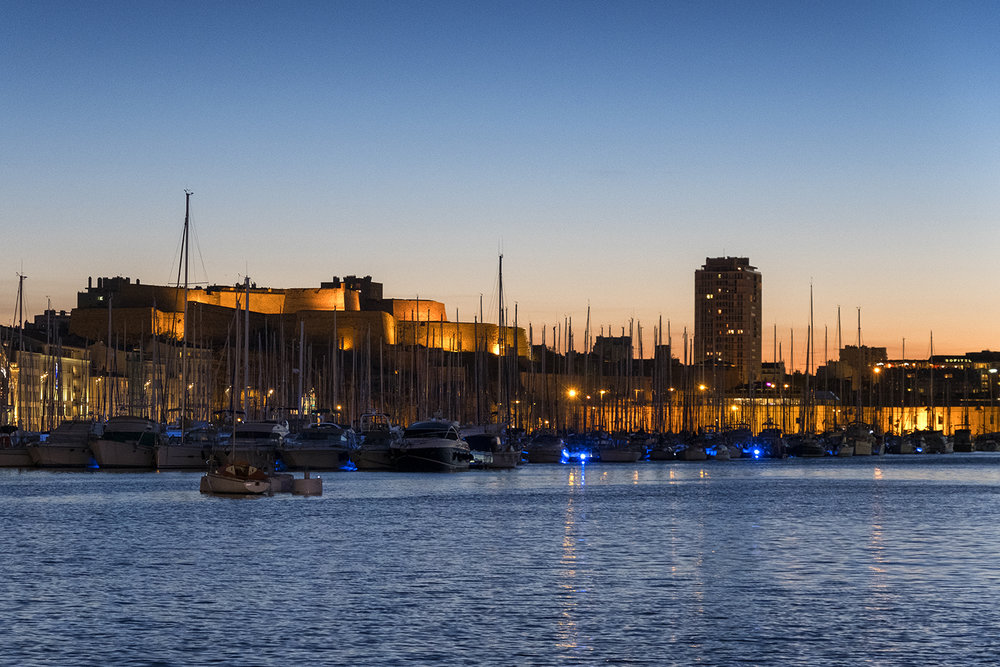 Old Port of Marseille, October Evening