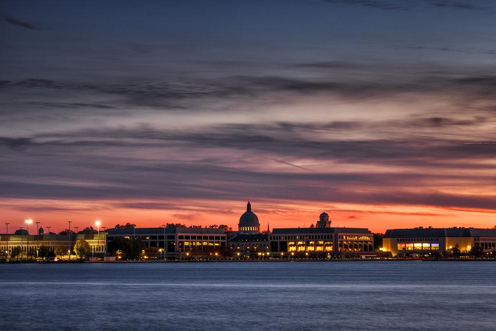 Annapolis, November Evening