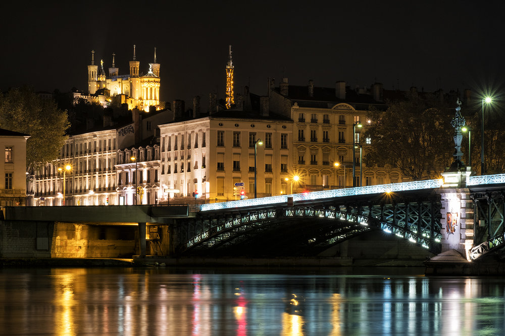 Lyon, October Evening