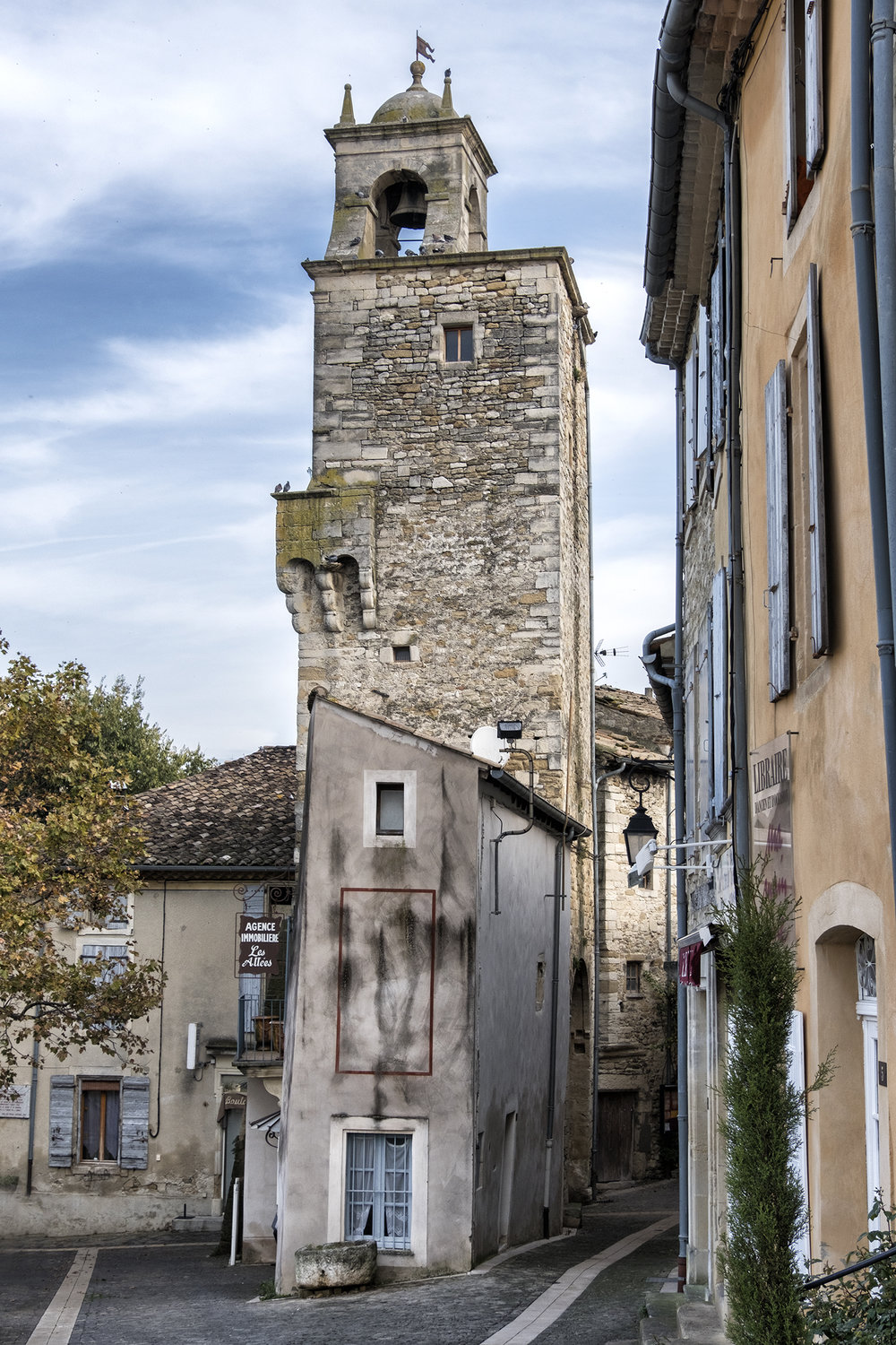 Grignan, France, October Afternoon