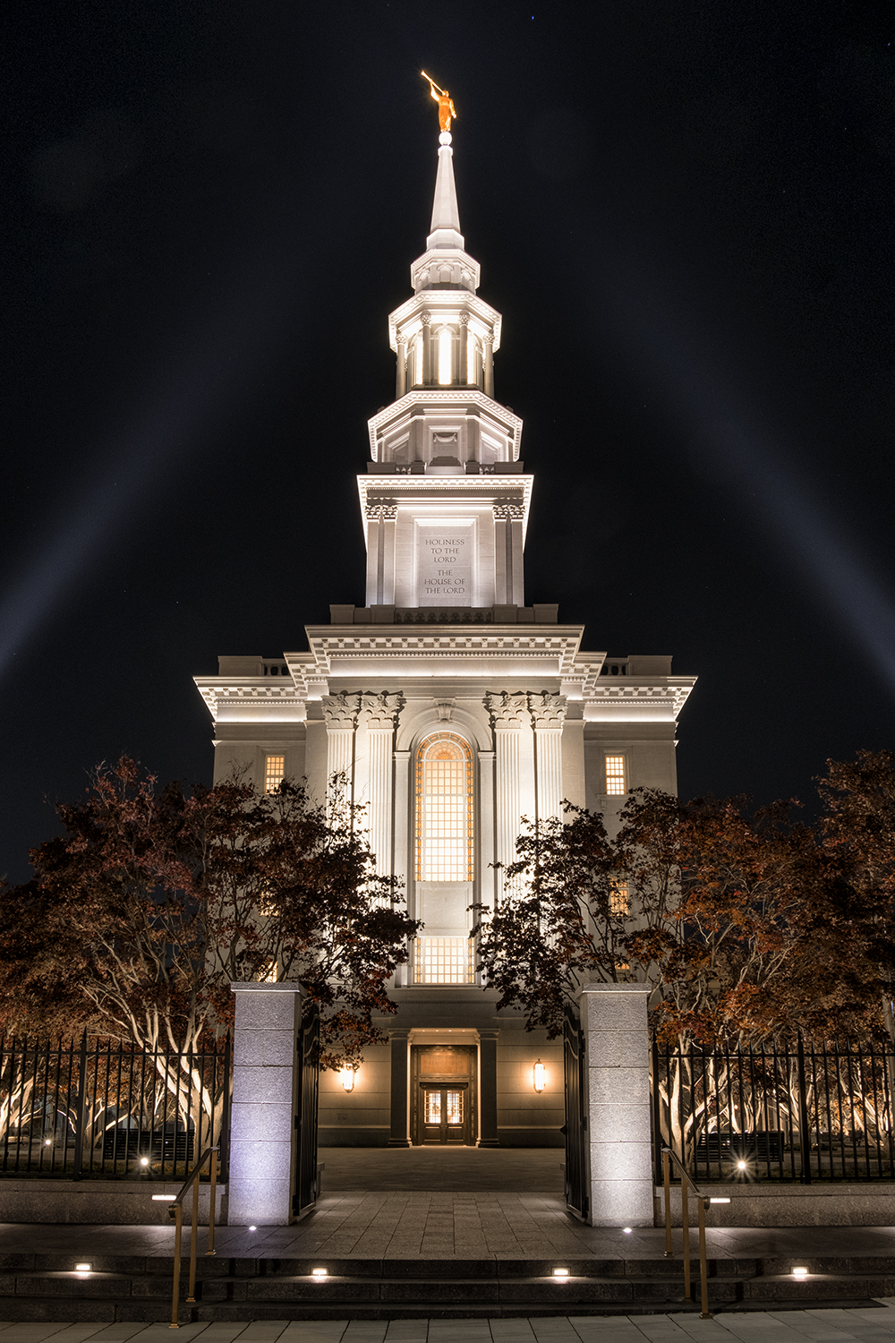 Philadelphia Mormon Church, November Evening