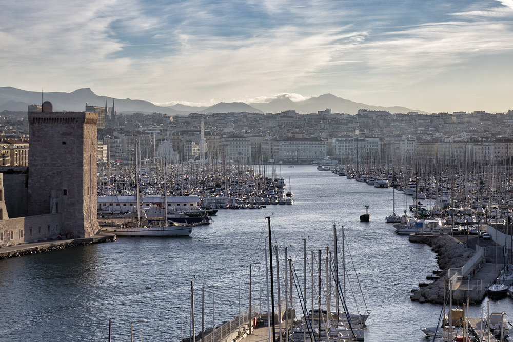 Old Port, Marseille, October Morning