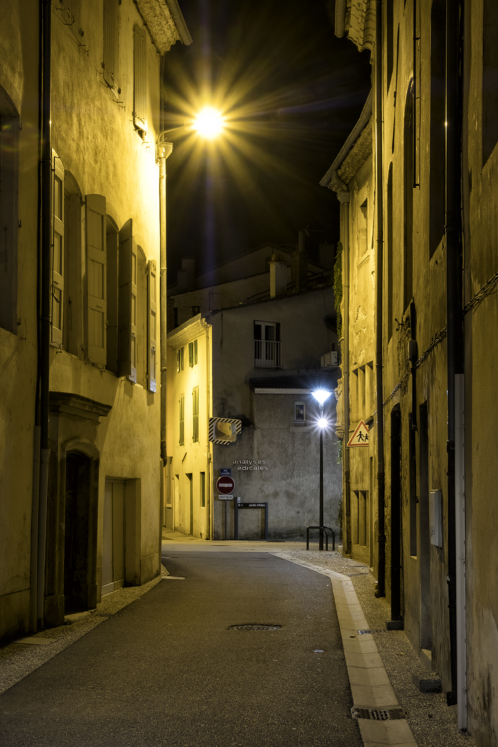 Tournon, France, October Evening