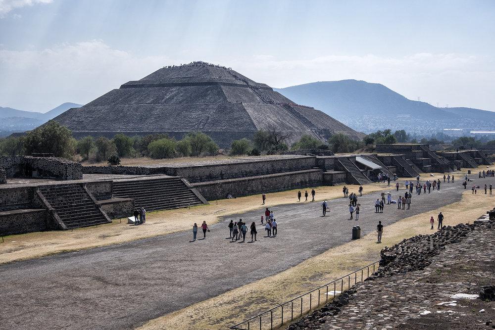 Piramide del Sol, Teotihuacan, Mexico