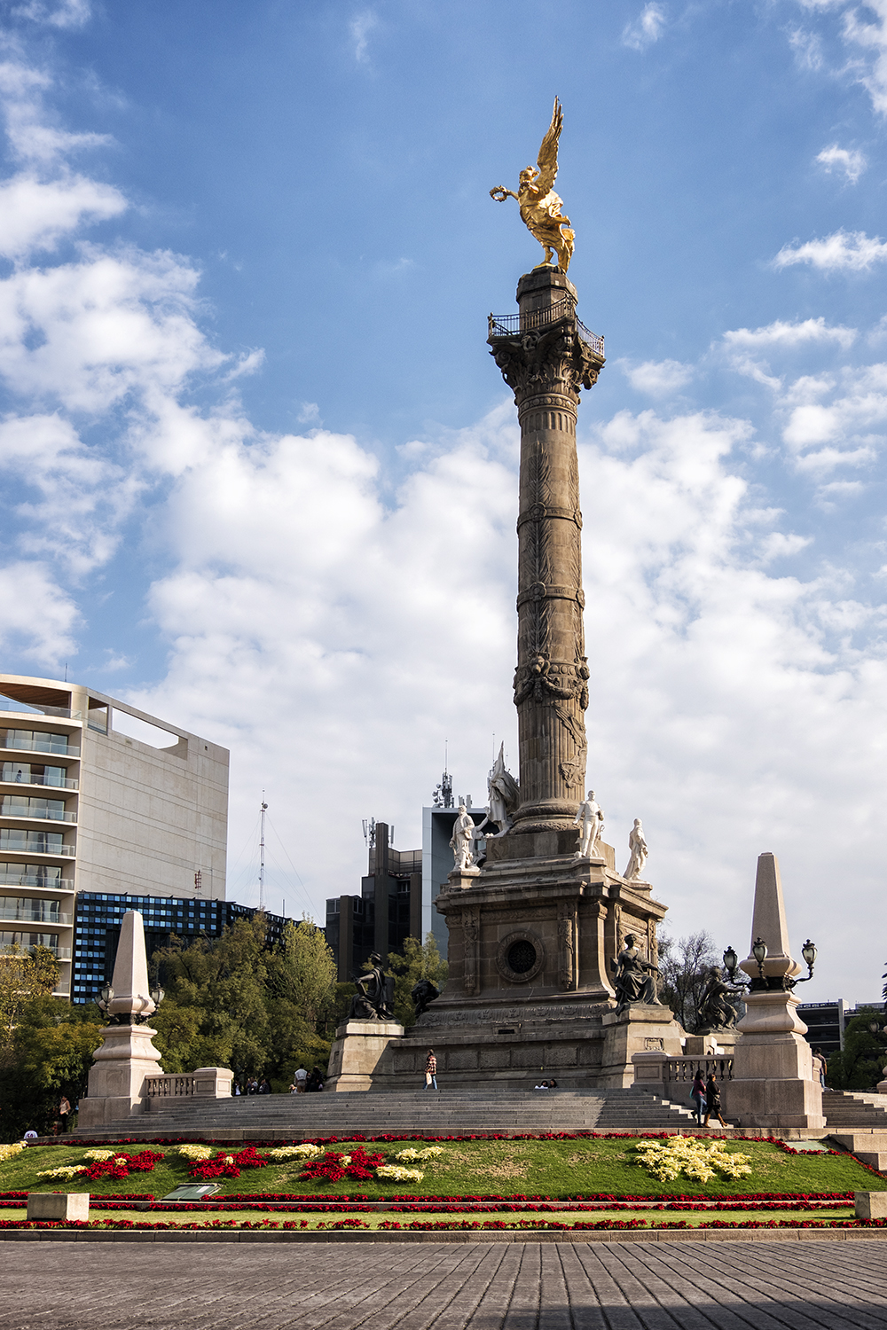 El Angel de la Independencia, Mexico City
