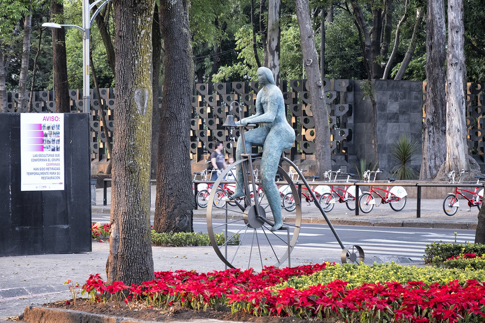 Public Art Along the Paseo de la Reforma