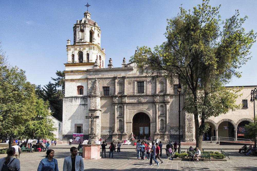 San Juan Bautista, Coyoacan, Mexico City