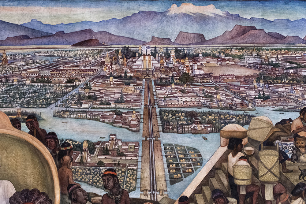 Diego Rivera Fresco, Mexico City