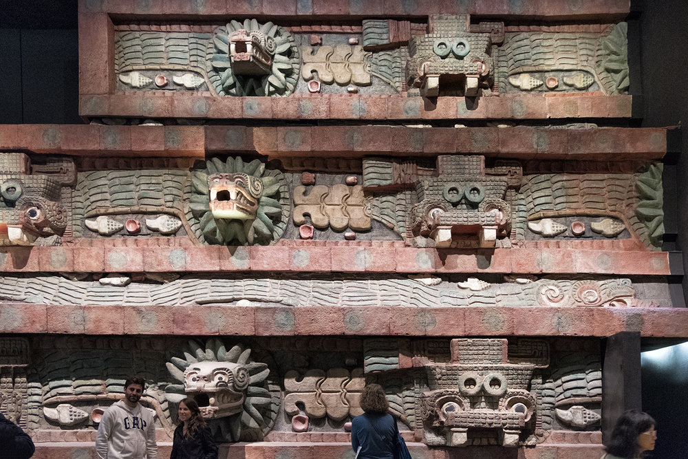 Teotihuacan Reconstruction, Museo Nacional de Anthropologia, Mexico City