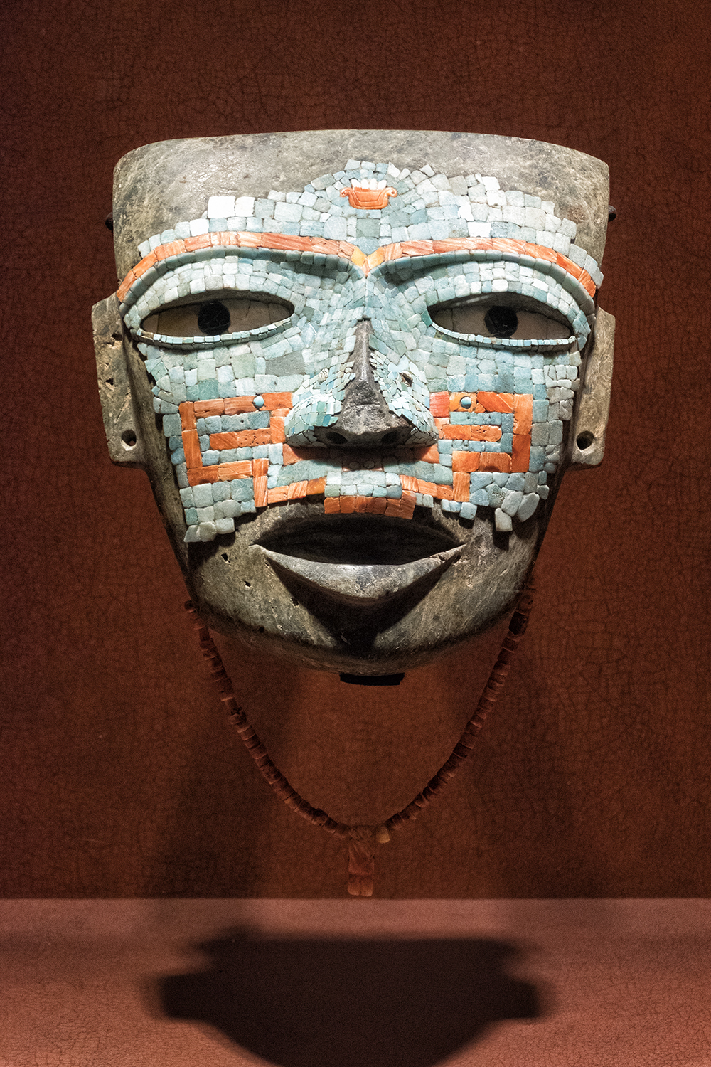 At the Museo Nacional de Anthropologia, Mexico City