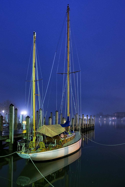 Annapolis, January Morning