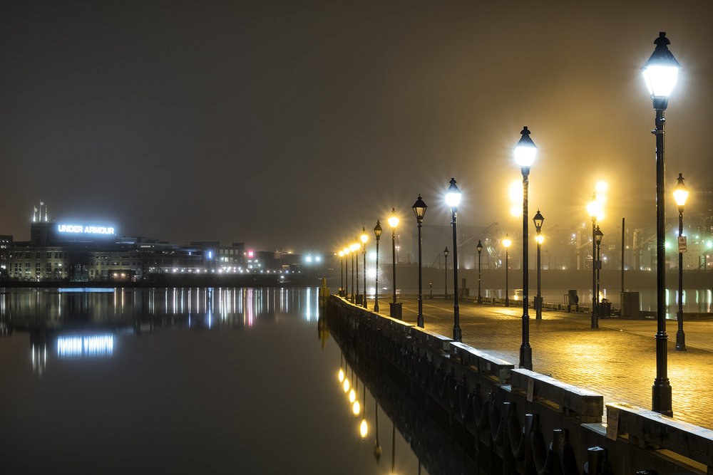 Fells Point, January Evening