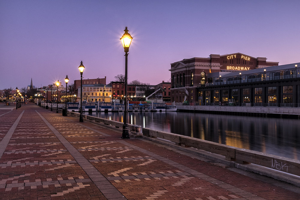 Fells Point, February Morning